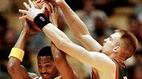 Basketbalová NBA se kvůli pandemii koronaviru nehraje. Trojka draftu NBA z roku 2008 a bývalý hráč Memphisu, Dallasu a Milwaukee O.J. Mayo bude hrát čínskou ligu (ilustrační foto)