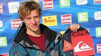 Snowboardista Jan Nečas.