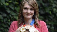 Majitelka kompletní sady olympijských medailí ve sportovní střelbě Kateřina Emmons je potřetí těhotná a rozhodla se ukončit sportovní kariéru.