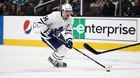 Auston Matthews, hokejový útočník Toronta Maple Leafs.