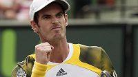 Britský tenista Andy Murray je už na druhém místě žebříčku ATP.