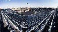 Diriyah aréna byla v Saudské Arábii postavena za dva měsíce, na box přijde 15 tisíc fanoušků.