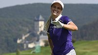 Vítězka golfového turnaje Tipsport Czech Ladies Open Carly Boothová ze Skotska.
