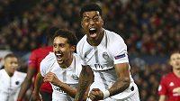 Výhra PSG nad Manchesterem United byla jedním z hlavních taháků úterních osmifinále LM.