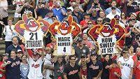 Baseballisté Clevelandu Indians vyhráli v MLB 21. zápas v řadě a vytvořili nový rekord Americké ligy. Fanoušci jsou nadšení.