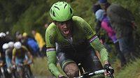 Nizozemec Lars Boom nehleděl na nepříznivé podmínky a šlapal ze všech sil pro vítězství v 5. etapě Tour.