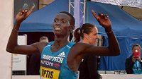 Olomoucký půlmaraton - vítěz mužské kategorie Josphat Kiptis z Keni.