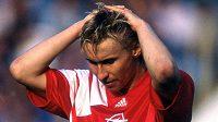Útočník Sparty Horst Siegl v sezóně 1993/94.