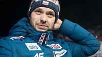 Trenér polských skokanů na lyžích Michal Doležal při loňském závodu SP v Zakopaném.