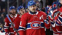 Tomáš Plekanec ještě v dresu Montrealu Canadiens.