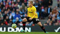 Matěj Vydra (ještě v dresu Watfordu) je na fotbalovém trhu hodně lákavým zbožím.