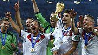 Němečtí fotbalisté si za čtvrtý titul mistrů světa v historii rozdělí sedm miliónů eur.