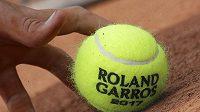 Tenisový míček - ilustrační foto.