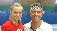 Petra Kvitová s Patam Cashem.