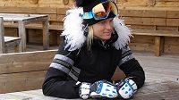 Slovenská lyžařka Veronika Velez Zuzulová.