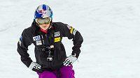 Americká sjezdařka Lindsey Vonnová se po vážném zranění postavila na sníh poprvé v chilském Portillu.