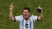 Lionel Messi mohl slavit postup.