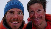 Ivica Kostelič (vpravo) na expedici v Grónsku.