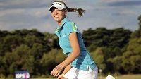 Golfistka Jessica Korda po vítězství na Australian Open