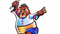 Maskotem hokejového MS 2019 na Slovensku bude medvěd.
