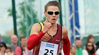 Pavel Maslák si běží pro letošní nejlepší český čas na dvoustovce.