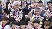 Zástupci Severní Koreje přijeli po deseti letech reprezentovat svojí zemi na turnaj v Jižní Koreji.