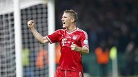 Bastian Schweinsteiger v dresu Bayernu Mnichov