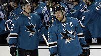Útočník San Jose Sharks Joe Pavelski byl vyhlášen nejlepším hráčem uplynulého týdne v NHL.