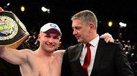 Český boxer Lukáš Konečný je držitelem pásu pro profesionálního mistra Evropy organizace WBO.
