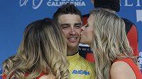 Vítěz cyklistického závodu Kolem Kalifornie Julian Alaphilippe z Francie.