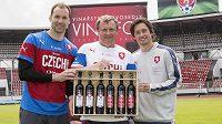 Víno je nachystáno, teď jen aby Petr Čech, Pavel Vrba, Tomáš Rosický a spol. měli dost důvodů ho otevřít...