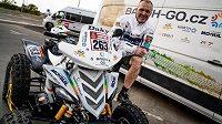 Čtyřkolkář Zdeněk Tůma, reprezentant týmu BARTH Racing, už má před startem Dakaru za sebou technické přejímky. Trvaly pět hodin.