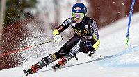 Olympijská vítězka Mikaela Shiffrinová z USA ovládla slalom v Aare.
