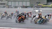 Jakub Kornfeil obsadil ve Velké ceně San Marina v třídě Moto3 sedmé místo. Na mokré trati v Misanu tak český jezdec zaznamenal svůj nejlepší letošní výsledek v mistrovství světa silničních motocyklů. Čtyřiadvacetiletý Kornfeil mohl pomýšlet ještě výš, ale ve čtvrtém z 23 okruhů ho zbrzdil pád.