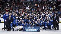 Tým Finska ovládl mistrovstí světa hokejistů do 20 let.