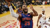 Detroitský rozehrávač Derrick Rose dostal od vedení NBA pokutu 25 000 dolarů