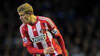 Fotbalista Sunderlandu James McClean.