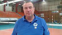 Trenér Milan Fortuník.
