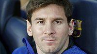 Hvězdný Lionel Messi z Barcelony.