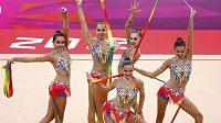 Ruské moderní gymnastky