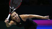 Rumunskou tenistku Simonu Halepovou zastil Turnaj mistryň ve skvělé formě.