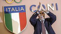 Šéf Italského olympijského výboru Giovanni Malago.
