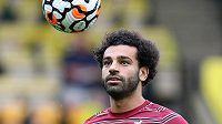 Kanonýr Liverpoolu Mohamed Salah.
