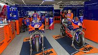 Motocykly týmu KTM Tech 3.