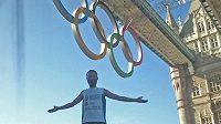 David Chrištof dorazil z Prahy do Londýna těsně před olympiádou.