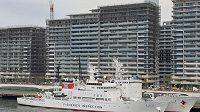 Budovu za lodí bude obývat česká výpravy při hrách v Tokiu.