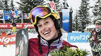 Snowboardcrossařka Eva Samková.