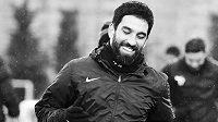 Turecký fotbalista Arda Turan.