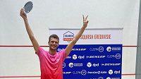 Český squashista Martin Švec vstoupil do nové sezony vítězstvím na turnaji v Amsterdamu.