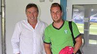 Duel prvního kola fotbalové ligy v Liberci byl také soubojem Zdeňků Koukalů. Otec v roli sportovního ředitele Slovanu a syn v roli asistenta trenéra MFK Karviná.